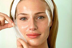 На фото: Коллагеновые маски для лица в домашних условиях